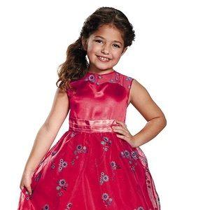 new Elena Avalor halloween gown costume Sz 4-6T